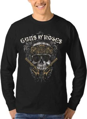Μπλούζα Φούτερ Sweatshirt Rock GUNS N ROSES dj1200