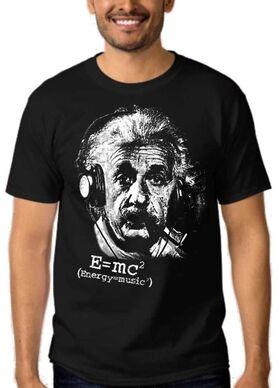 Μπλουζάκι με στάμπα Άλμπερτ Αϊνστάιν a8913