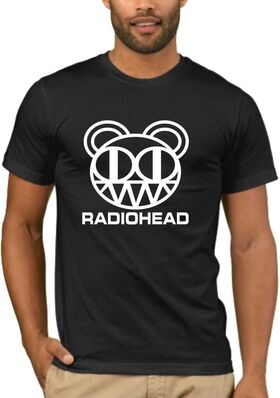 Rock t-shirt  RADIOHEAD