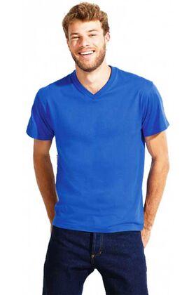 Ανδρικο t-shirt με λαιμοκοψη v 11150