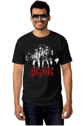 Rock t-shirt ACDC Original Band Members