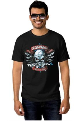 Μπλουζάκι Rock t-shirt SCORPIONS Rock and roll
