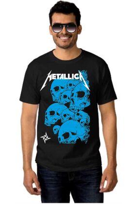 Μπλουζάκι Rock t-shirt METALLICA 10 Skulls