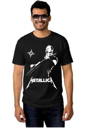 Μπλουζάκι Rock t-shirt METALLICA James Hetfield