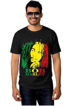 Μπλουζάκι Rock t-shirt BOB MARLEY DJ1548
