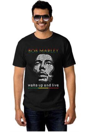 Μπλουζάκι Rock t-shirt BOB MARLEY DJ1551
