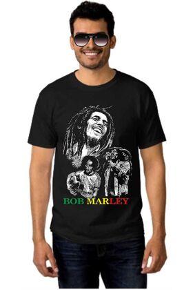 Μπλουζάκι Rock t-shirt BOB MARLEY DJ1552