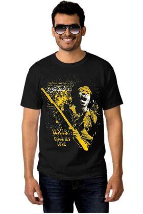 Μπλουζάκι Rock t-shirt Jimi Hendrix Axis Bold As Love T-Shirt