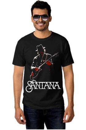 Μπλουζάκι Rock t-shirt SANTANA  dj1900