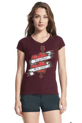 Γυναικεία μπλουζάκια με στάμπα 3353