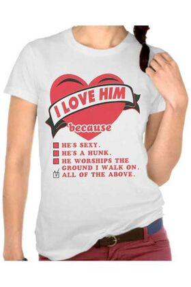 Γυναικεία μπλουζάκια με στάμπα 3354