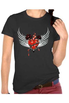 Γυναικεία μπλουζάκια με στάμπα 4803