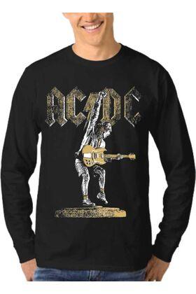 Μπλούζα Φούτερ Sweatshirt Rock ACDC dj1001