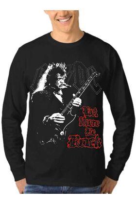 Μπλούζα Φούτερ Rock Sweatshirt ACDC dj1002