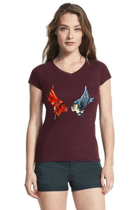Γυναικεία μπλουζάκια με στάμπα 4311