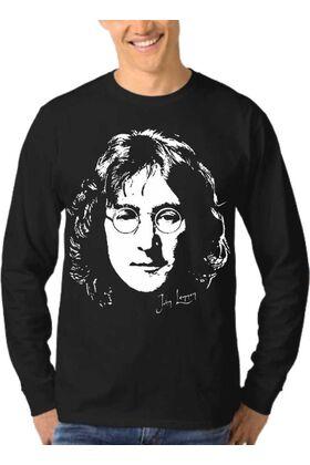 Μπλούζα Φούτερ Sweatshirt Rock John Lennon dj1261