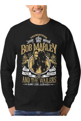 Μπλούζα Φούτερ Sweatshirt Rock BOB MARLEY dj1549