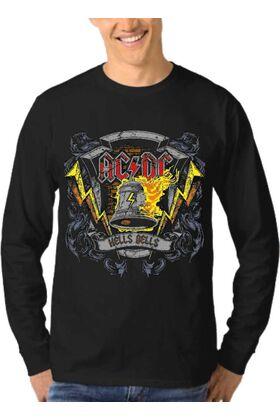 Μπλούζα Φούτερ Sweatshirt Rock ACDC dj1005