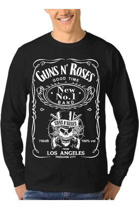 Μπλούζα Φούτερ Sweatshirt Rock GUNS N ROSES dj1202