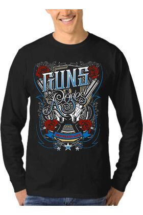 Μπλούζα Φούτερ Sweatshirt Rock GUNS N ROSES dj1209