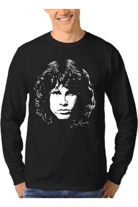 Μπλούζα Φούτερ Sweatshirt Rock JIM MORRISON DJ1121