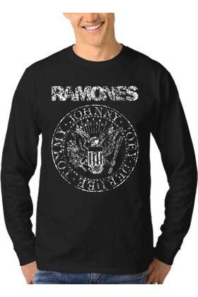 Μπλούζα Φούτερ Sweatshirt Rock RAMONES dj1710