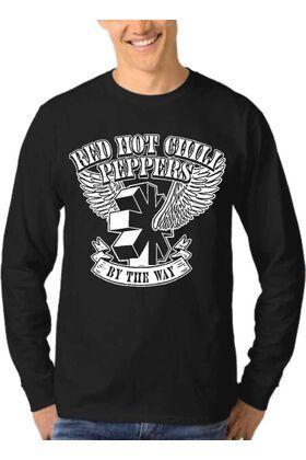 Μπλούζα Φούτερ Sweatshirt Rock RED HOT CHILI PEPPERS dj1300