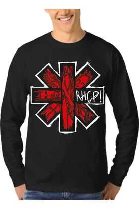 Μπλούζα Φούτερ Sweatshirt Rock RED HOT CHILI PEPPERS dj1302