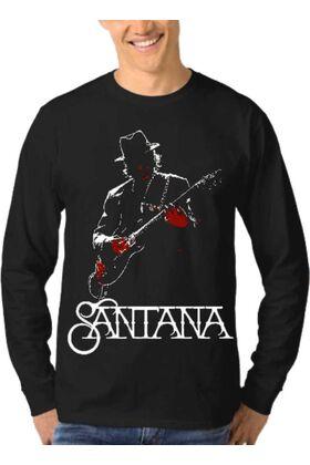 Μπλούζα Φούτερ Sweatshirt Rock SANTANA dj1900