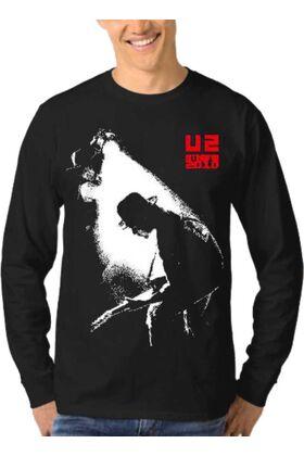 Μπλούζα Φούτερ Sweatshirt Rock U2 dj1840