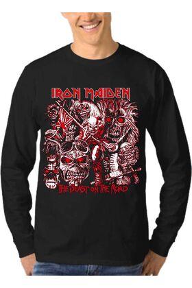 Μπλούζα Φούτερ Sweatshirt Rock IRON MAIDEN dj1664