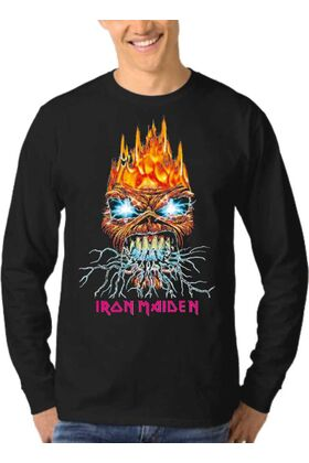 Μπλούζα Φούτερ Sweatshirt Rock IRON MAIDEN dj1675