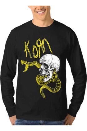 Μπλούζα Φούτερ Sweatshirt Rock KORN dj1621