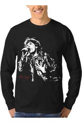 Μπλούζα Φούτερ Sweatshirt Rock ROLLING STONES dj1356