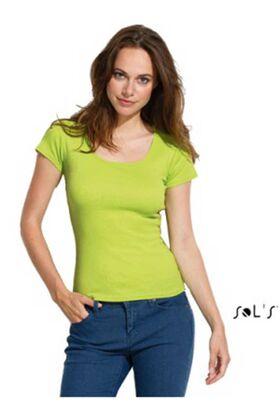 Γυναικειο τ-shirt λαιμοκοψη Sols MOODY 11865
