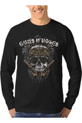 Μπλούζα Φούτερ Sweatshirt Rock GUNS N ROSES dj1200
