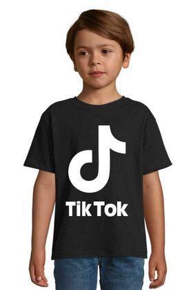 Παιδικό μπλουζάκι με στάμπα tik tok