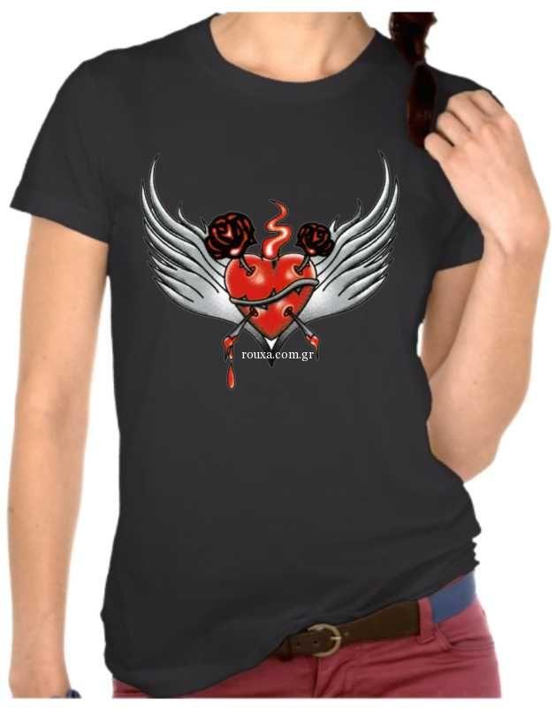 9f2fd5fbe7c Γυναικεία μπλουζάκια με στάμπα 4803
