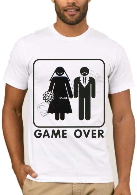 3e0a6b9a9284 ΜΠΛΟΥΖΕΣ ΜΕ ΣΤΑΜΠΕΣ    Αστεία T-shirts    Αστεία T-shirts BACHELOR ...